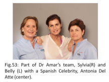 Dr Roger Amar and his team
